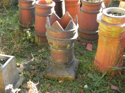 Reclaimed Chimney Pots for Worthing