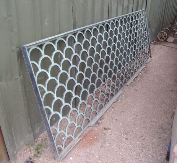 Reclaimed Bronze Balcony Railing