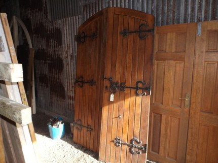 Reclaimed Gothic Oak Church Doors