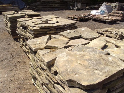 Reclaimed York Stone Paving Flags