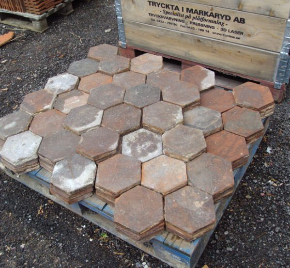 French Hexagonal Floor Tiles