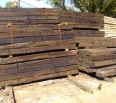 Reclaimed German Oak Sleepers