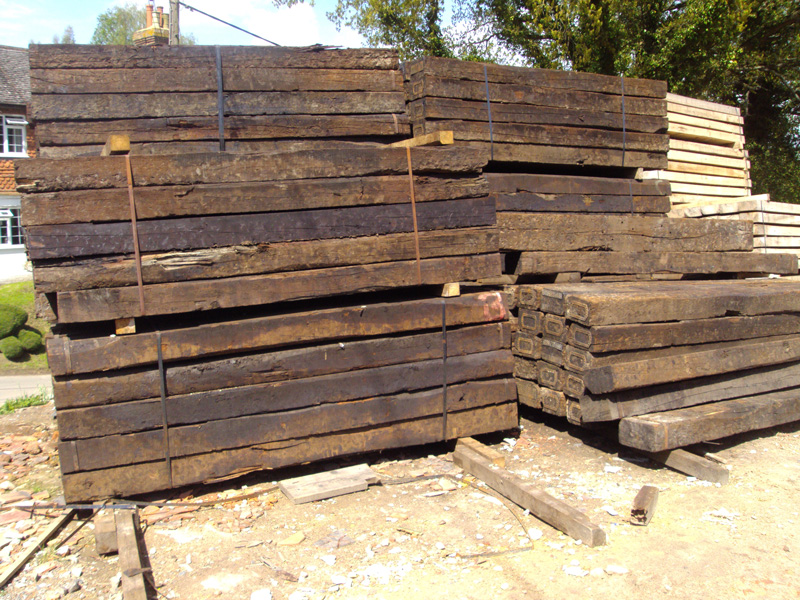 railway sleepers in west sussex