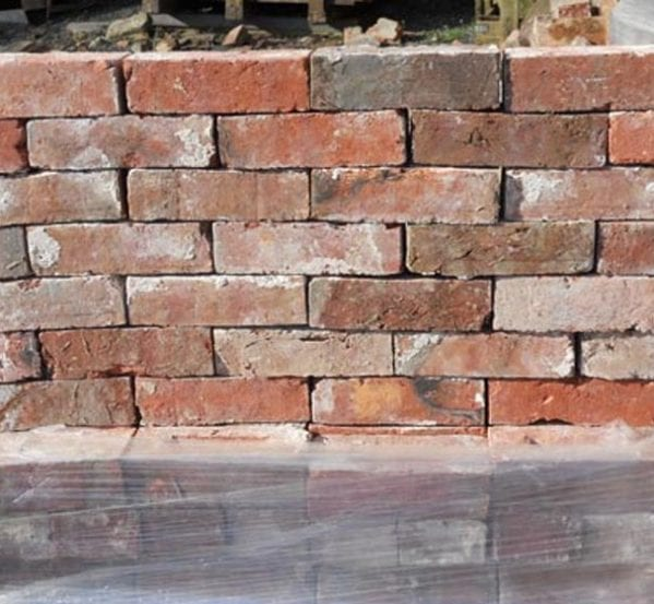 hand made Victorian red bricks