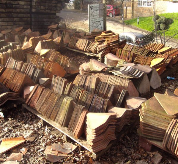 Handmade and Machine Made Valley Roof Tiles