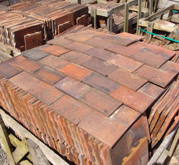 machine made roof tiles