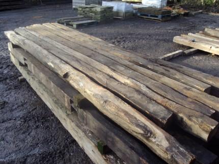 Reclaimed Oak Beams for South London