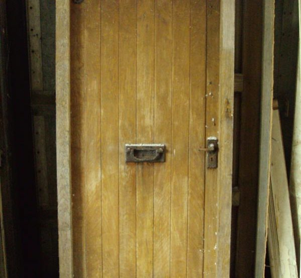 Reclaimed Oak Door and Frame
