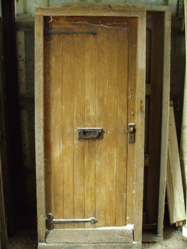Reclaimed Oak Door and Frame