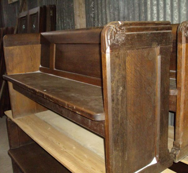 Reclaimed Oak Pews