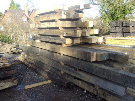 Reclaimed Oak Beams for West Sussex