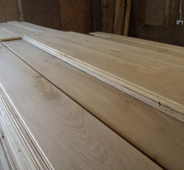 French Solid oak Floorboards