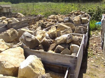 Reclaimed Rockery Stone