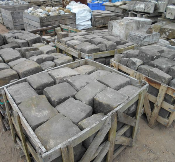 Reclaimed York Stone Cobbles