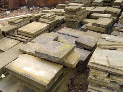 Reclaimed Stone Steps & Coping for South London