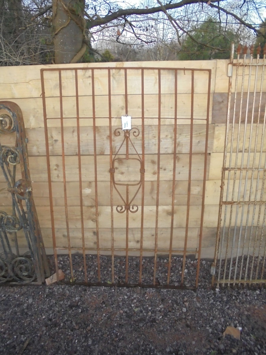 Reclaimed Wrought Iron Panel