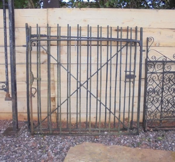 Reclaimed Wrought Iron Gates- Pair