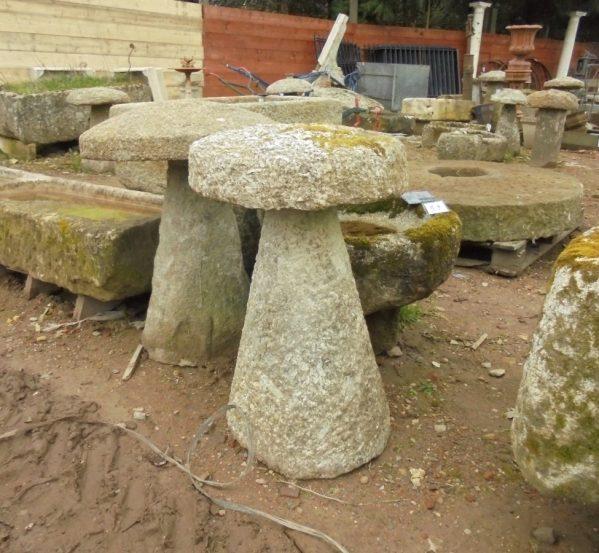 Salvaged Cornish Staddle Stone