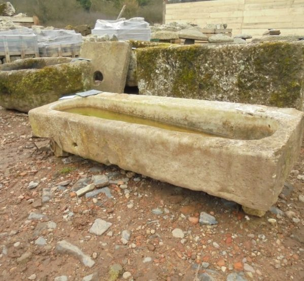 french stone trough