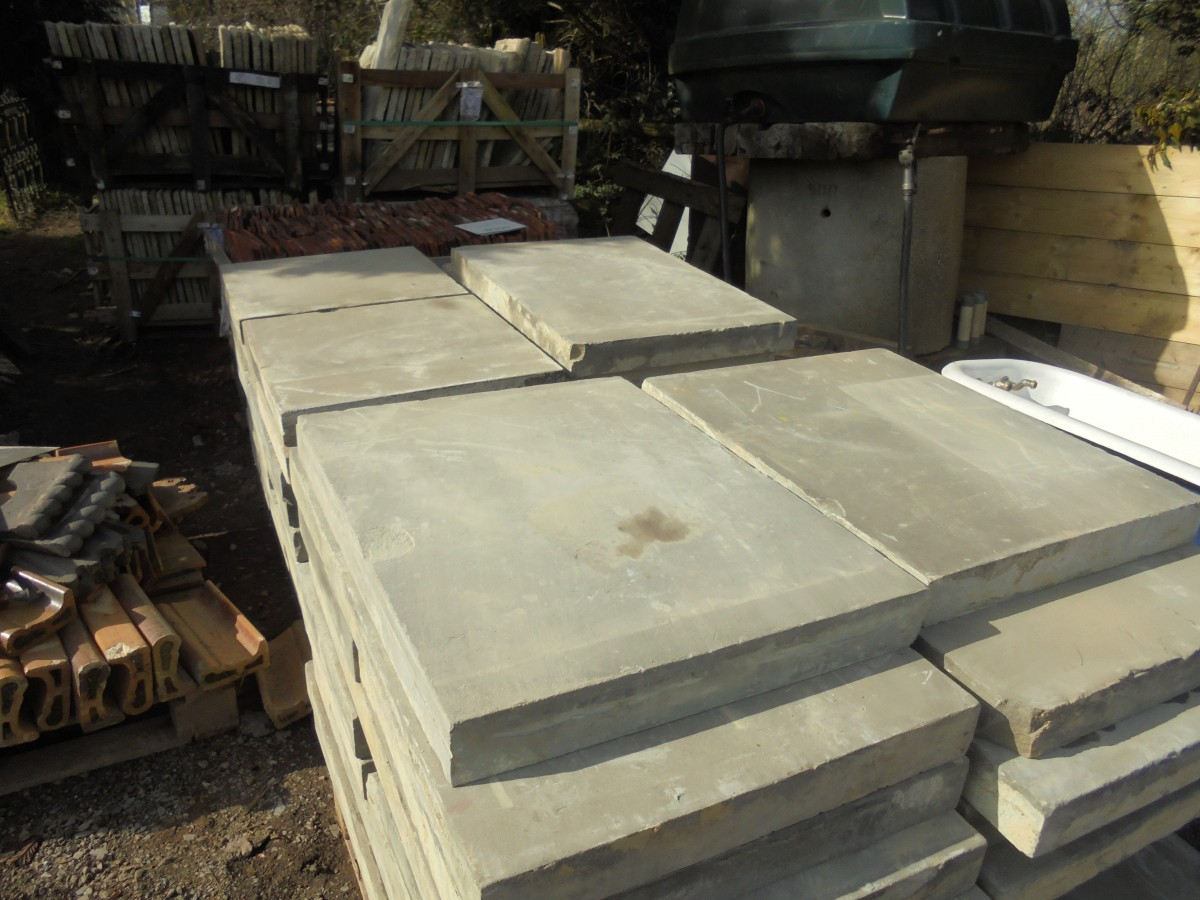 Reclaimed Sawn York Stone from Hackney