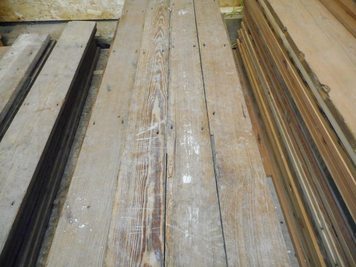 reclaimed narrow pine flooring