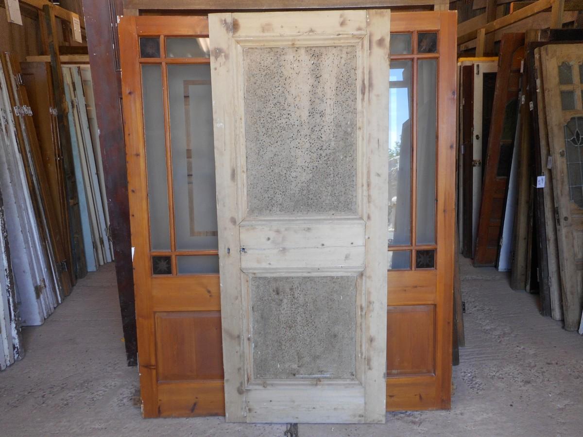Reclaimed 2 panelled doors