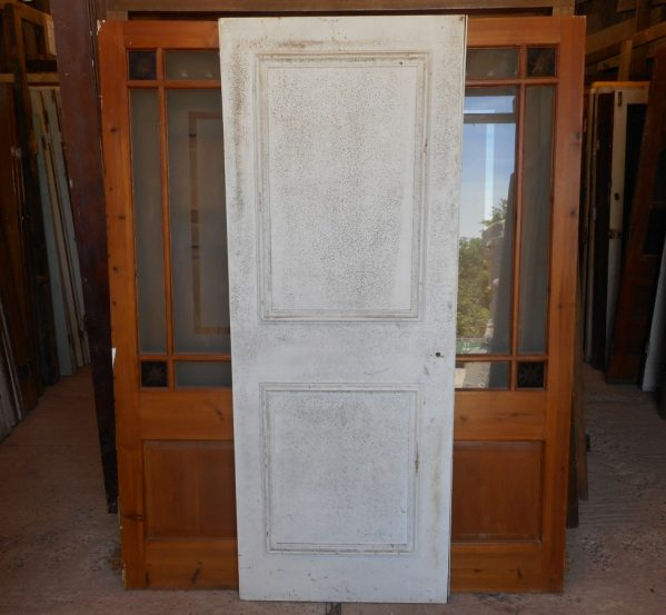 Reclaimed 2 panelled door