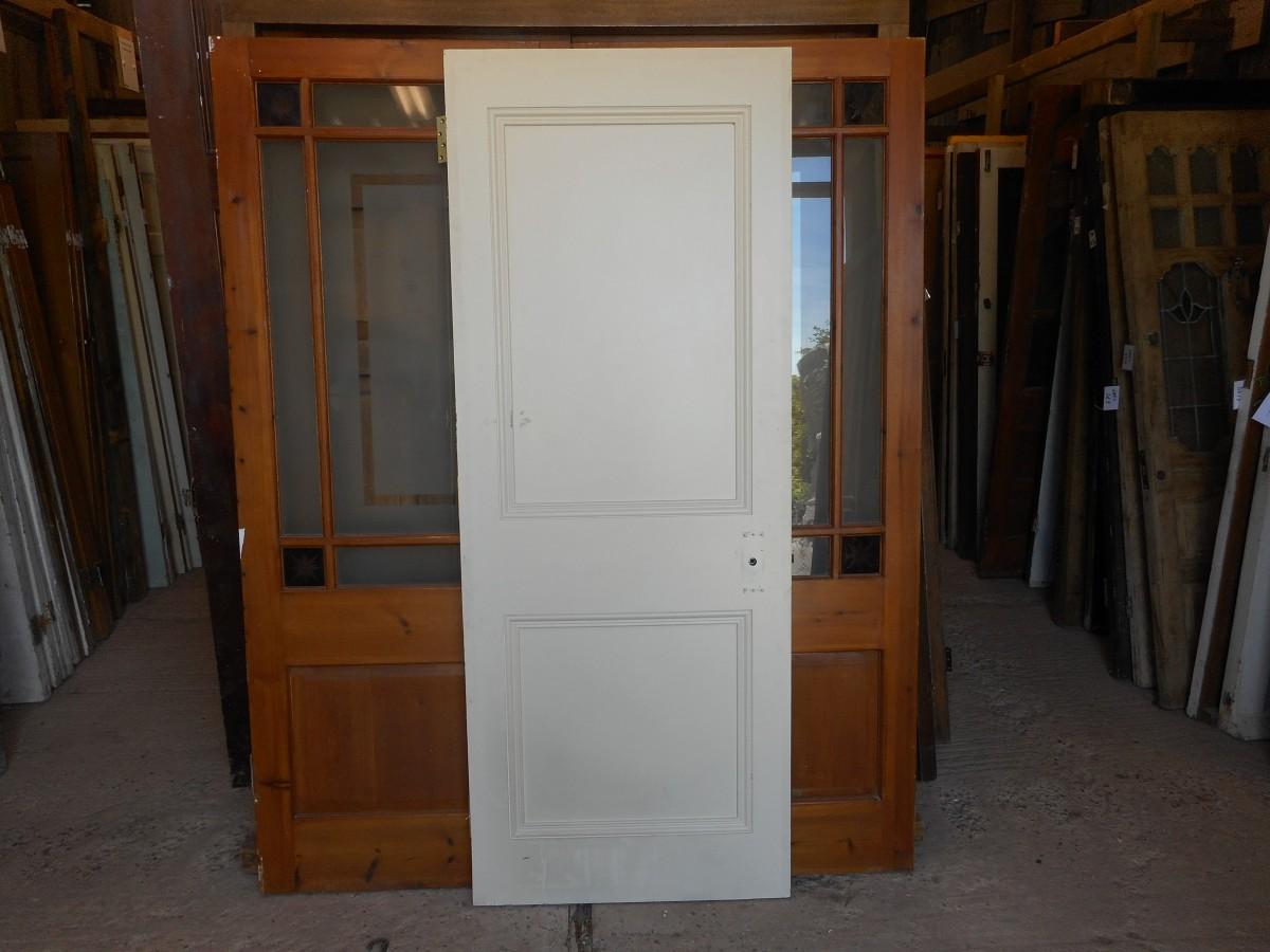 2 panel reclaimed door