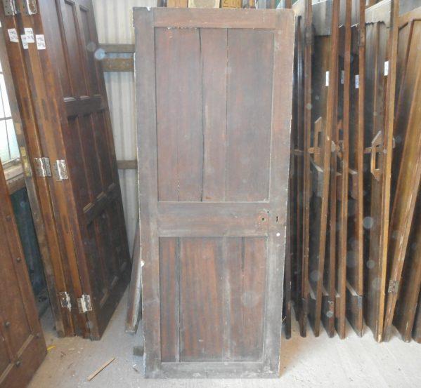 reclaimed Georgian 2 panelled door