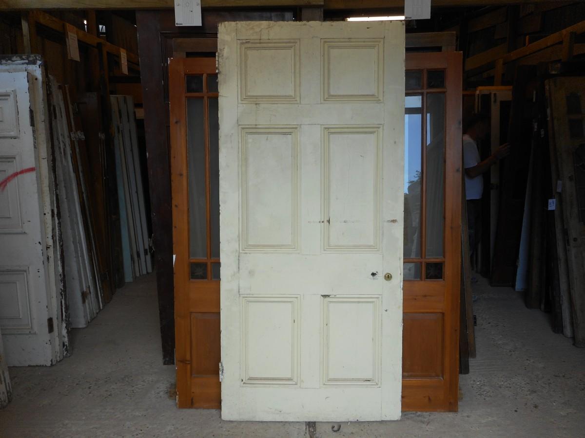 Georgian style 6 panelled door