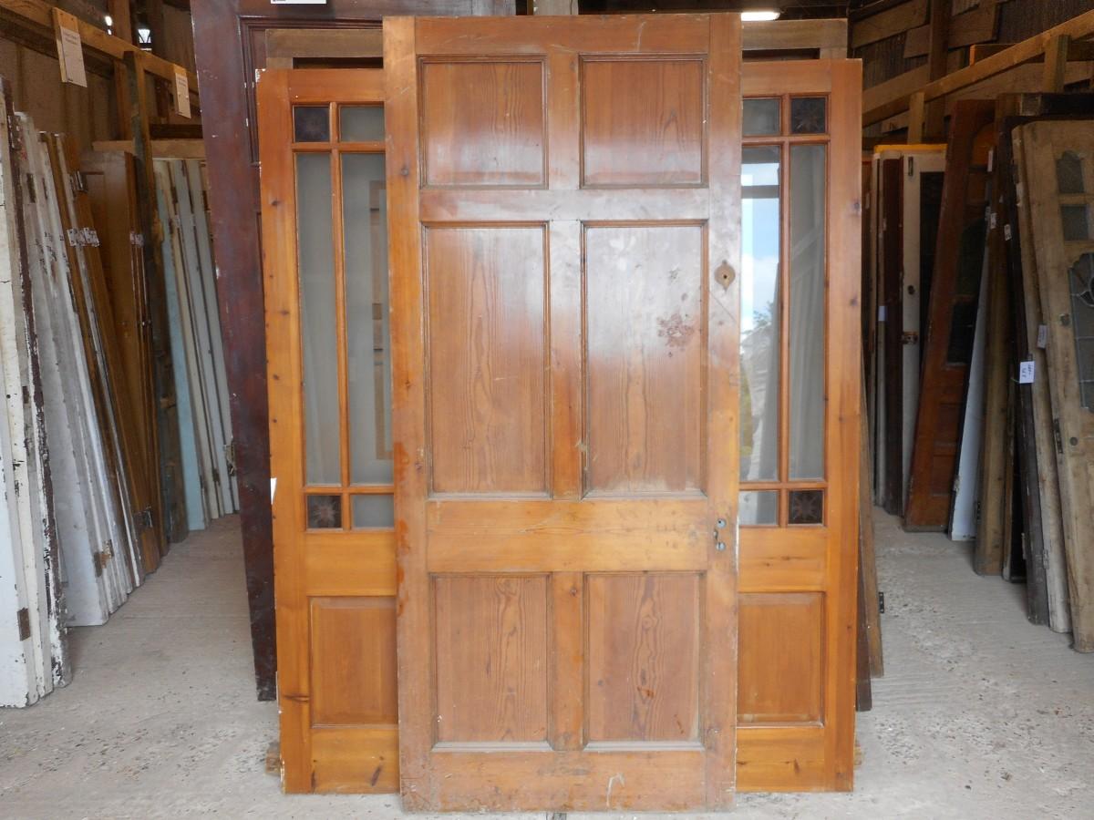 Georgian style 6 panel reclaimed door