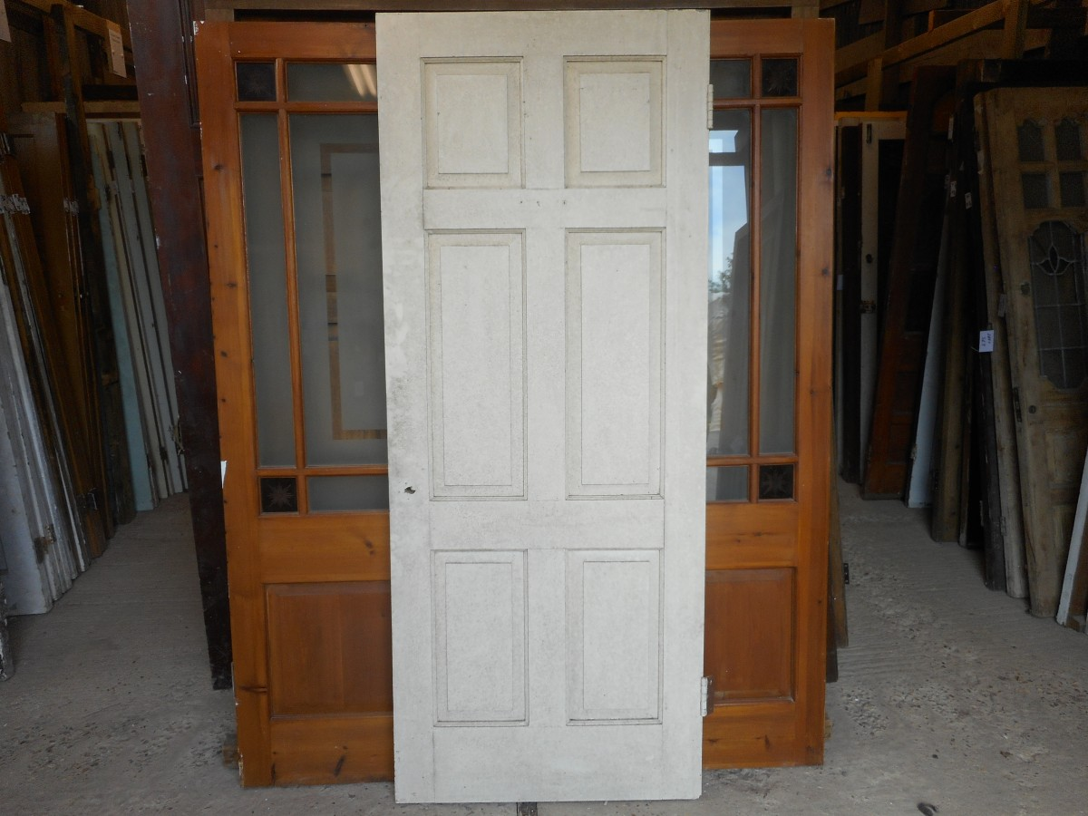 Georgian style 6 panel door