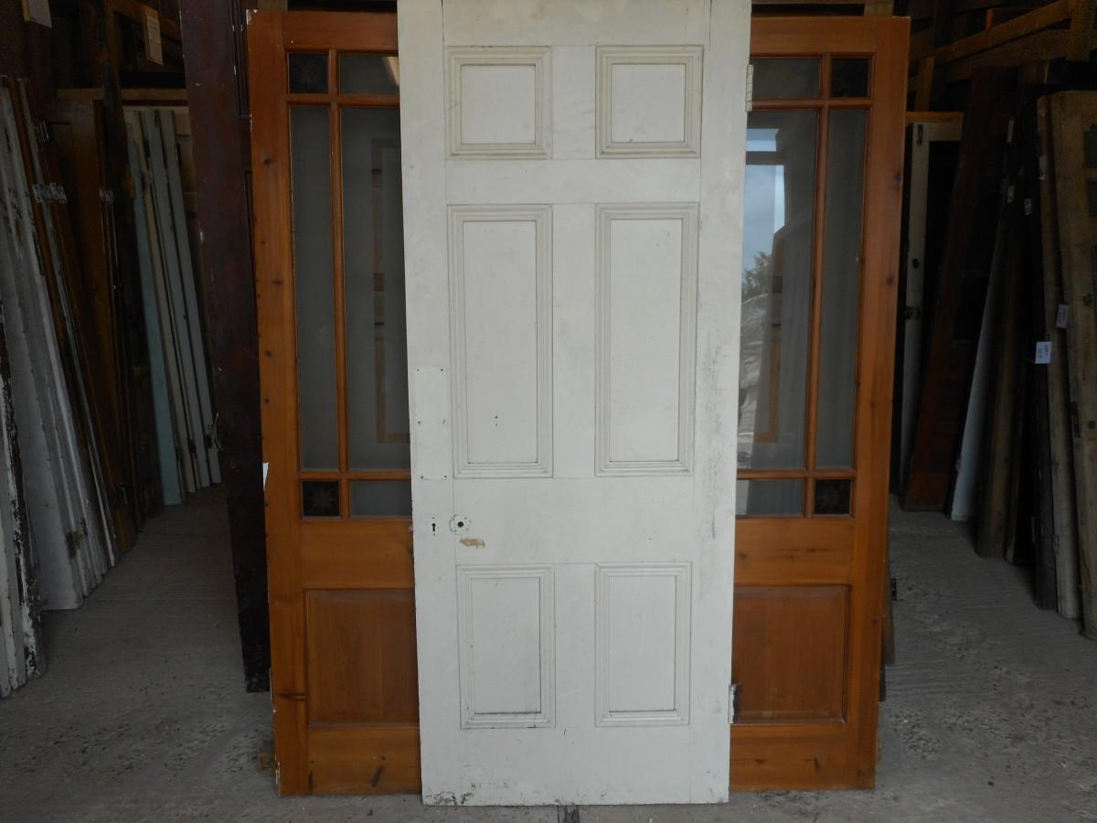 Georgian 6 panel 2 over 2 over 2 door