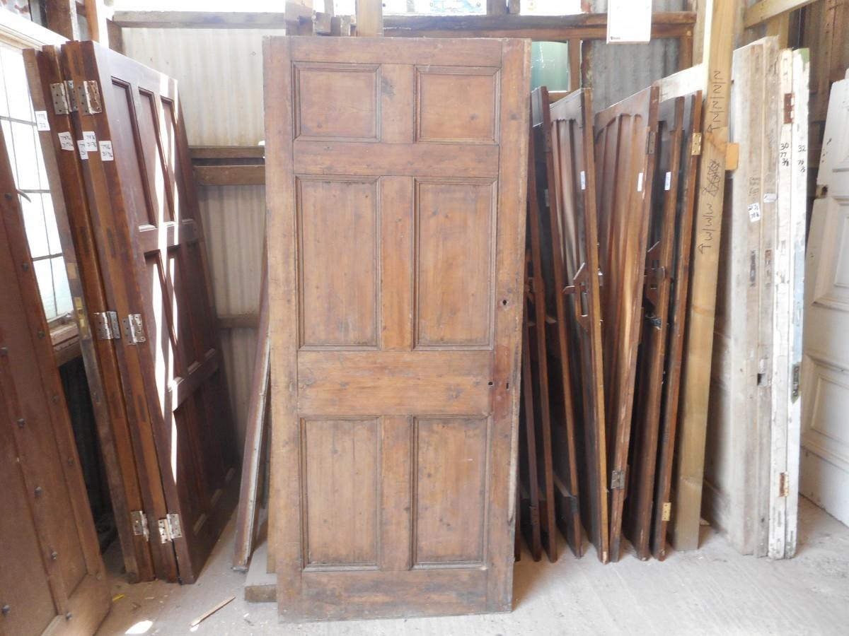 6 panel Georgian door