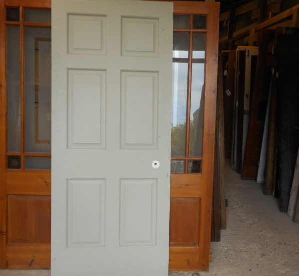 Reclaimed 6 panel Georgian door