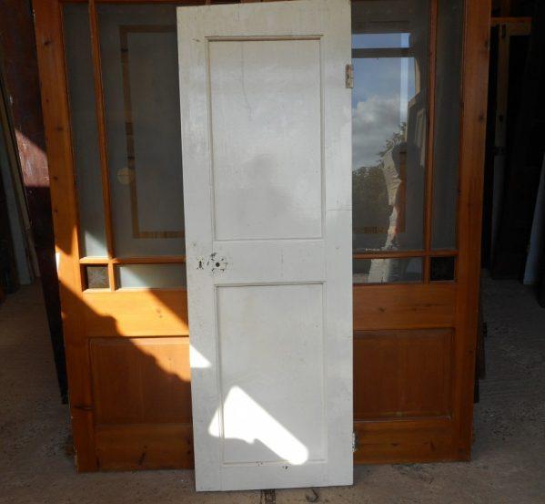 reclaimed Georgian 2 panel door