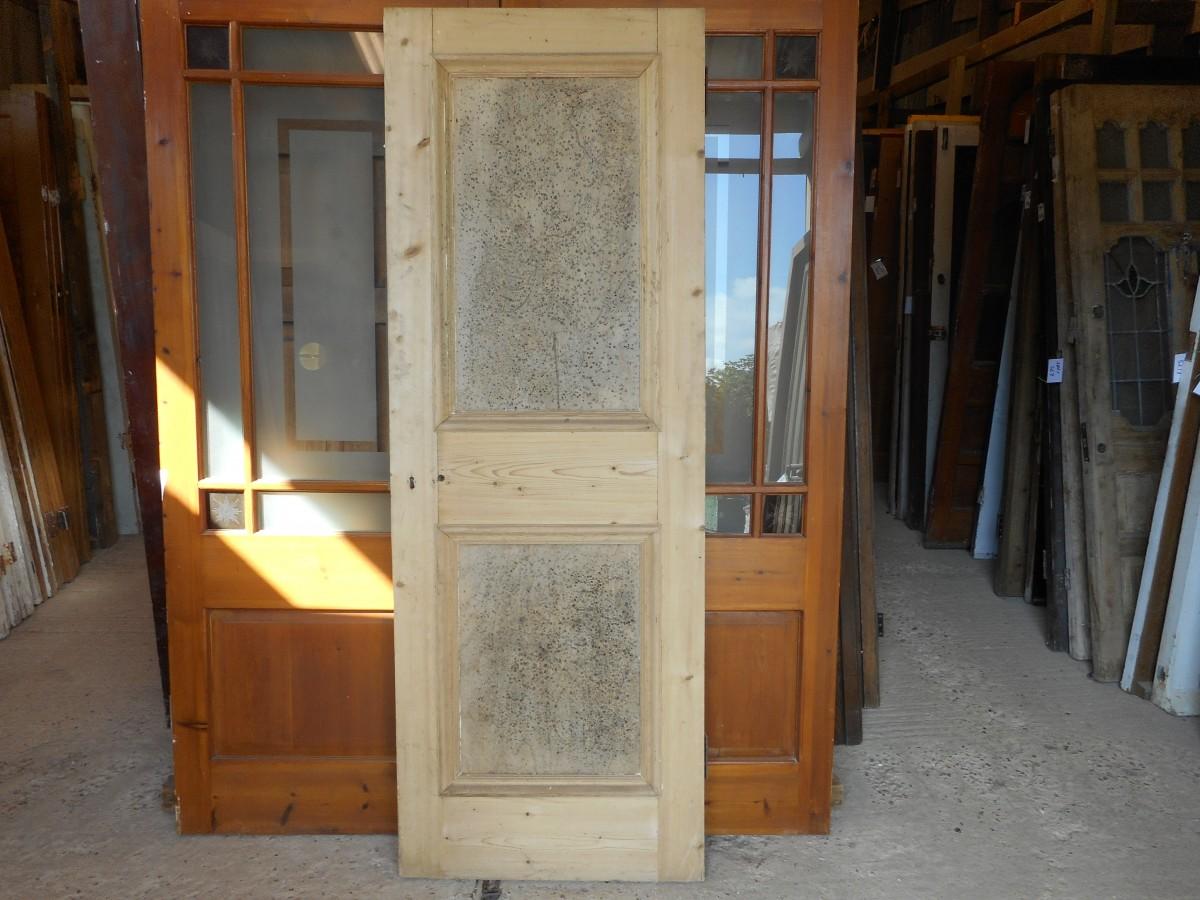 Georgian 2 panel 1 over 1 style door
