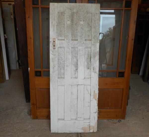 reclaimed 9 panel door