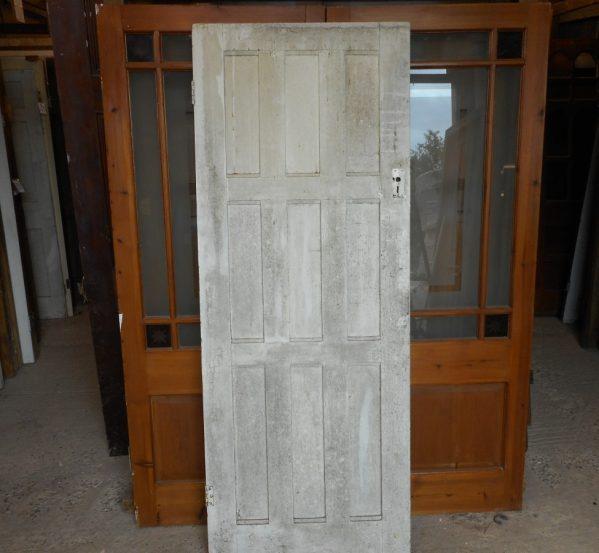 white 9 panel door