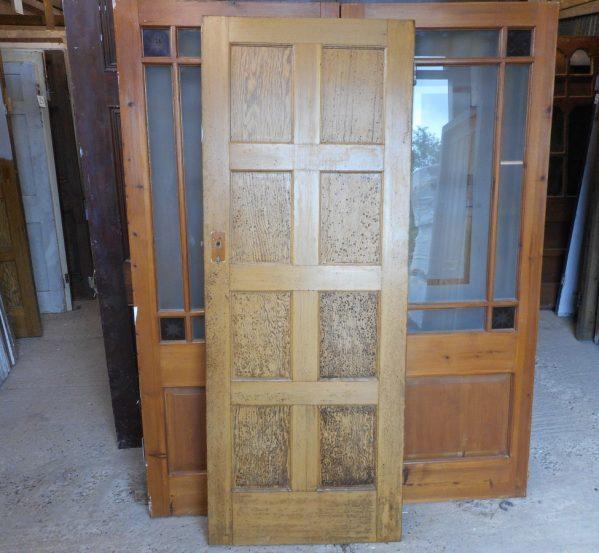 Reclaimed 8 panelled doors
