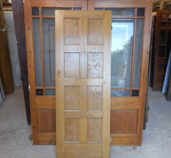 reclaimed 8 panel 2 over 2 over 2 over 2 door