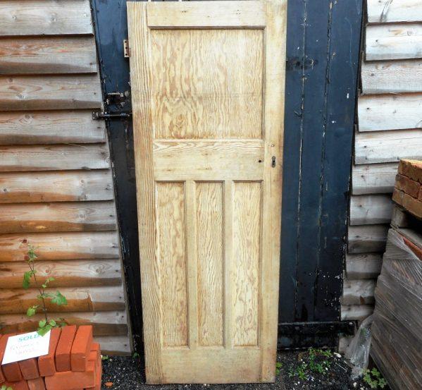 Reclaimed Stripped 1930's style 1 over 3 door
