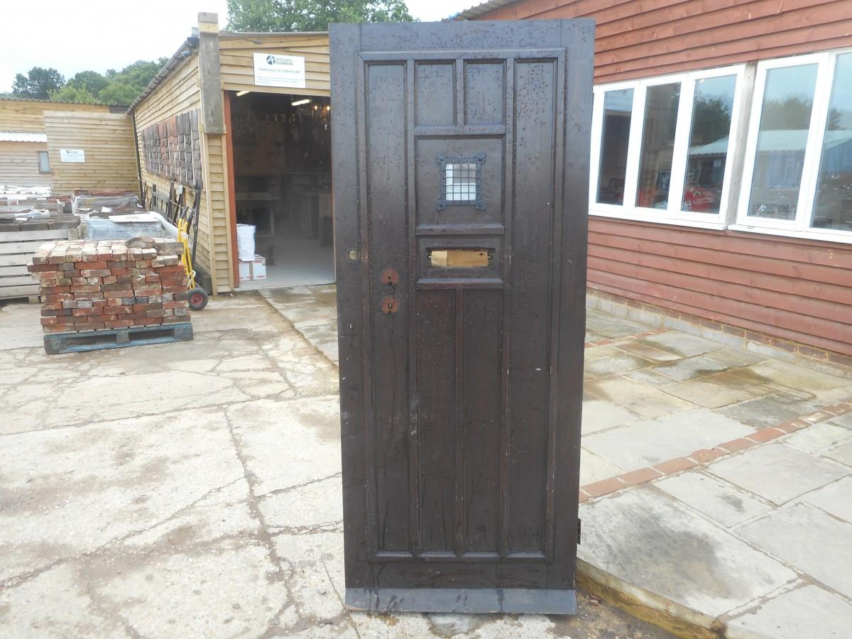 reclaimed oak front door