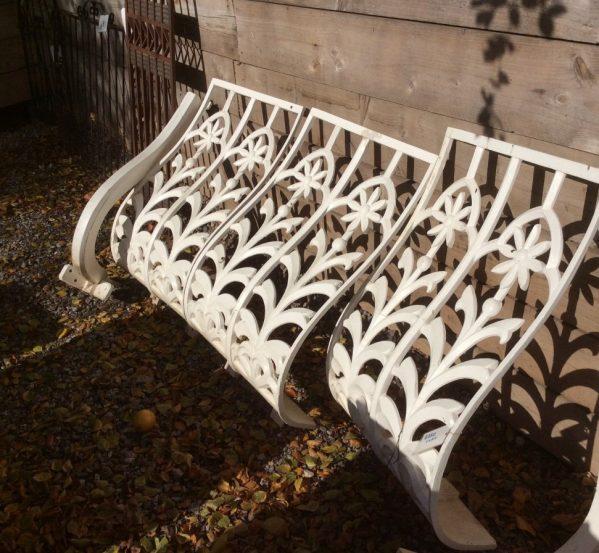 Reclaimed balcony railings