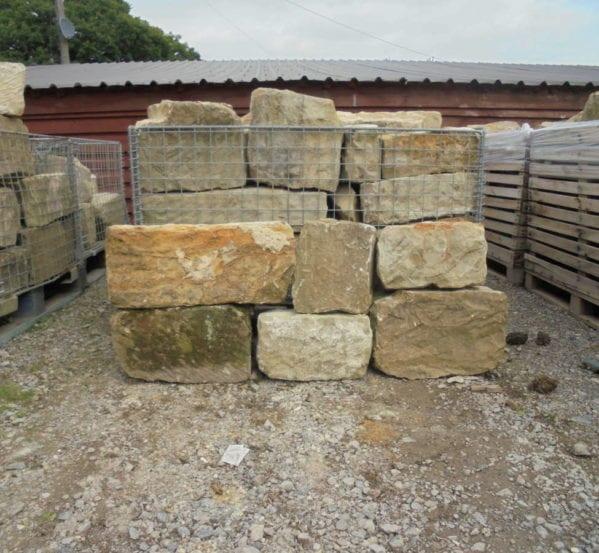 Reclaimed A grade sandstone walling