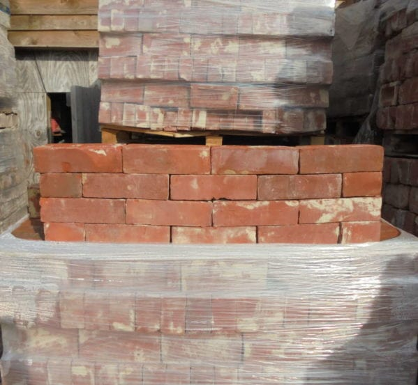 Orange Wire Cut Brick Batch