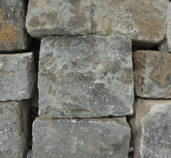Purbeck Stone Cobbles Salvaged From Eton