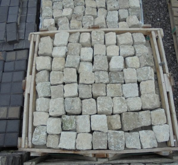 Salvaged Granite Setts