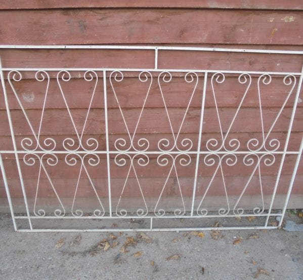 Reclaimed Wrought Window Grill