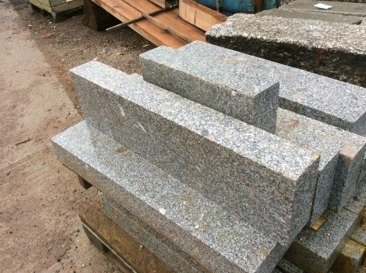 Newly Cut Granite Kerbs Authentic